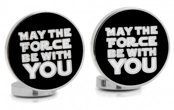 Star Wars Manschettenknöpfe - May the Force Be With You