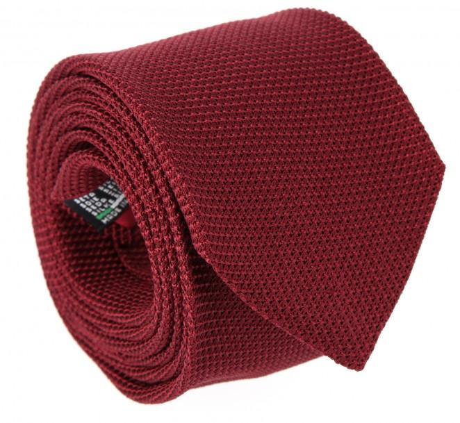 Kaminrote Krawatte aus Grenadinen-Seide - Grenadines IV