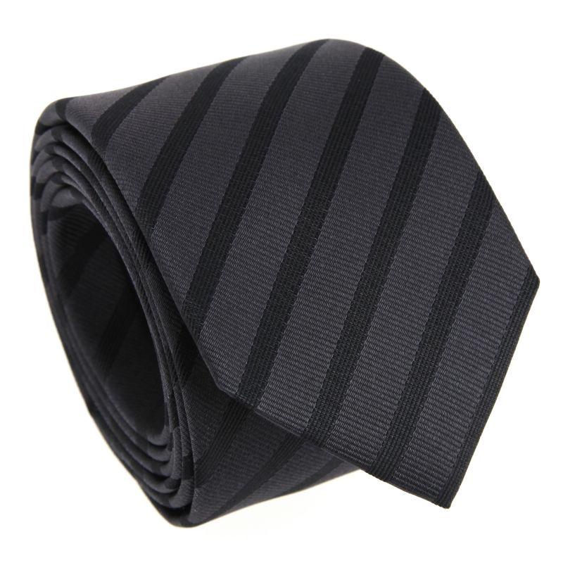 Schwarze gestreifte Krawatte – Birmingham II