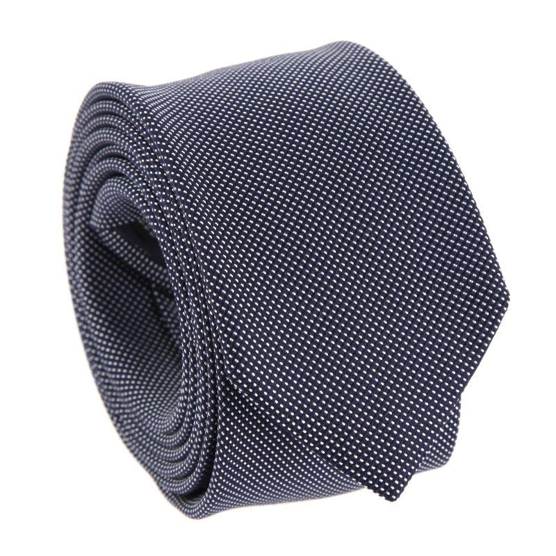 Marineblaue und graue The Nines Krawatte - Houston III