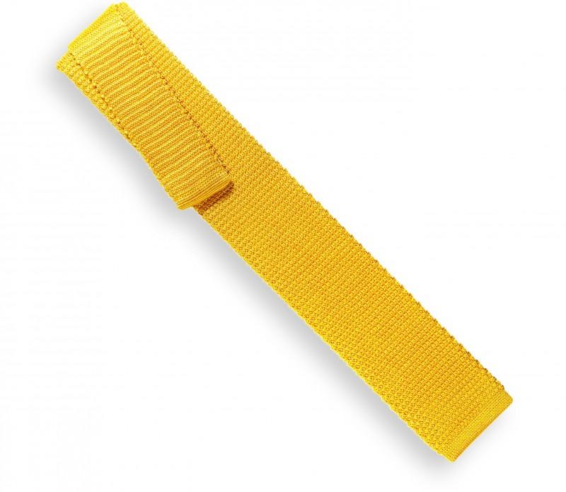 Cravate en tricot jaune - Monza