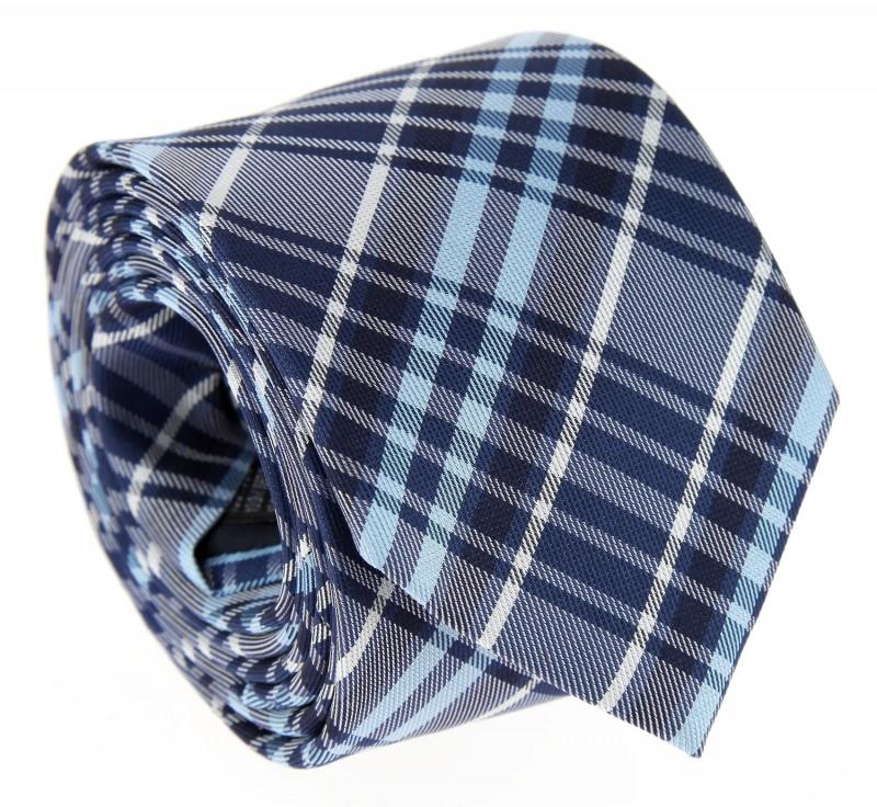 Blaue Krawatte im Schottenmuster - Dornoch II