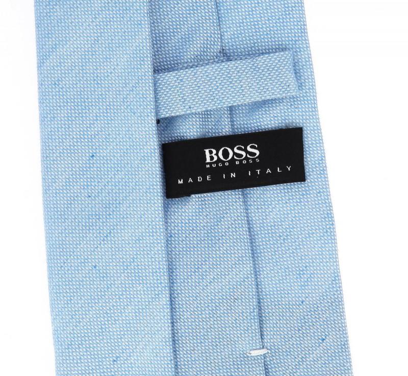 himmelblaue hugo boss slim krawatte das krawattenhaus. Black Bedroom Furniture Sets. Home Design Ideas
