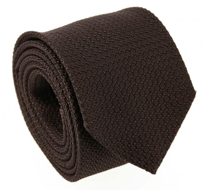 Braune Krawatte aus Grenadinen-Seide - Grenadines II