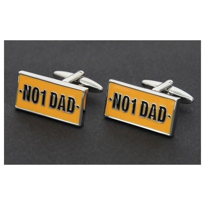 Number 1 Dad rechteck