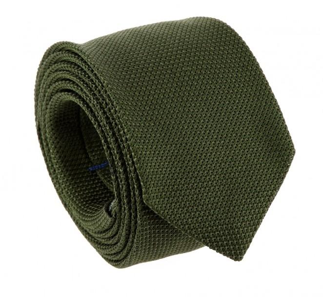 Khakigrüne Krawatte aus Grenadinen-Seide - Grenadines IV