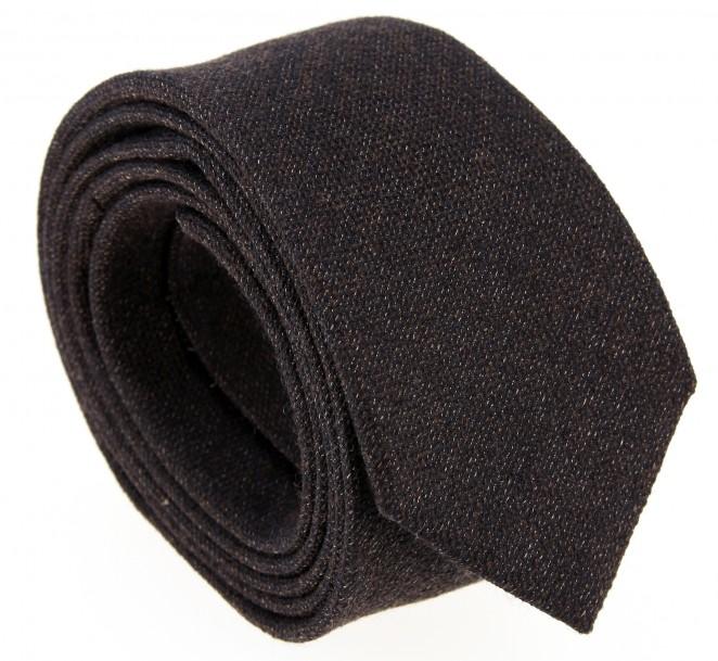 Braune Geflochtene The Nines Woll Krawatte - Saint Herblain