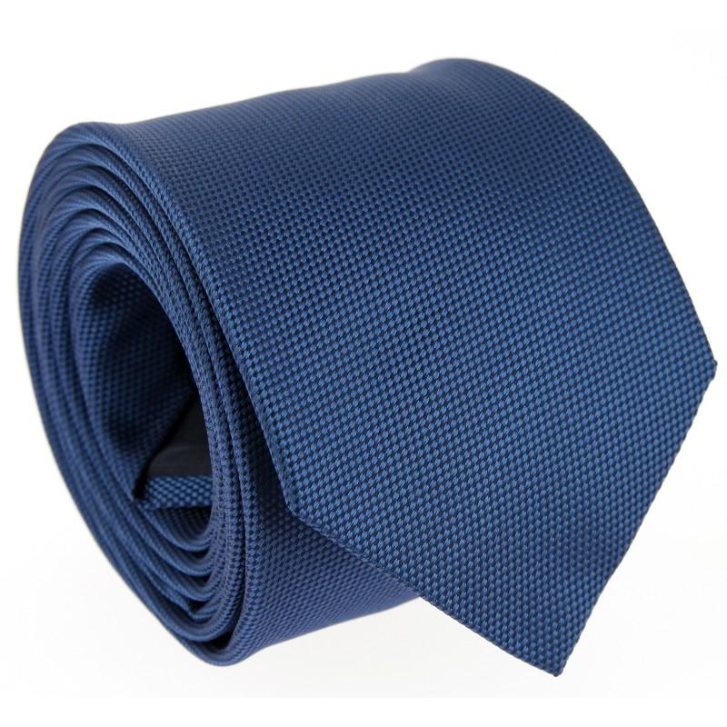 Blaue Hugo Boss Geflochtene Seide Krawatte