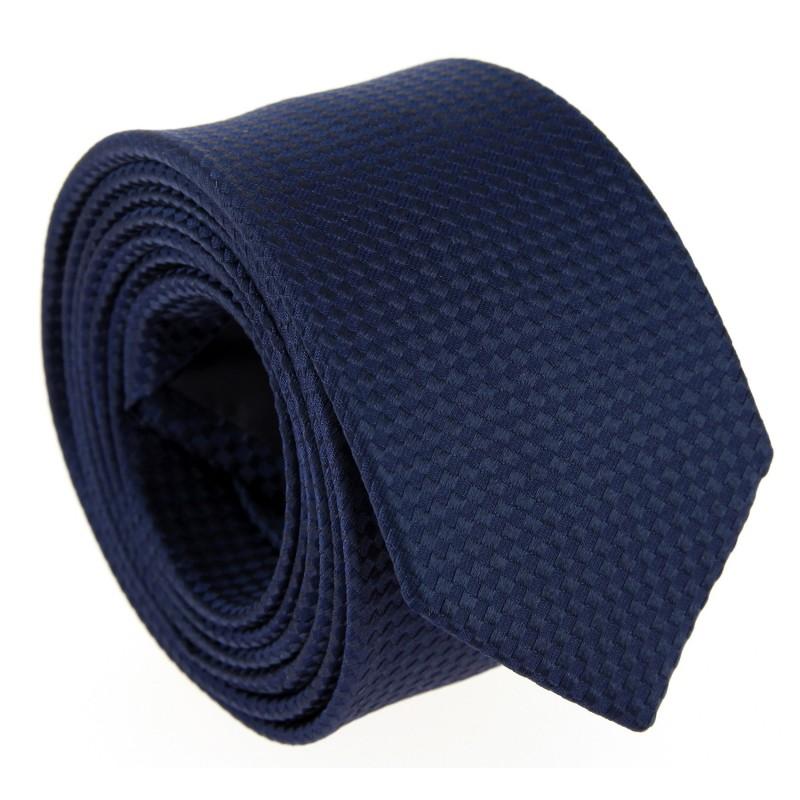 Blaue Farbe-in-Farbe Hugo Boss Krawatte