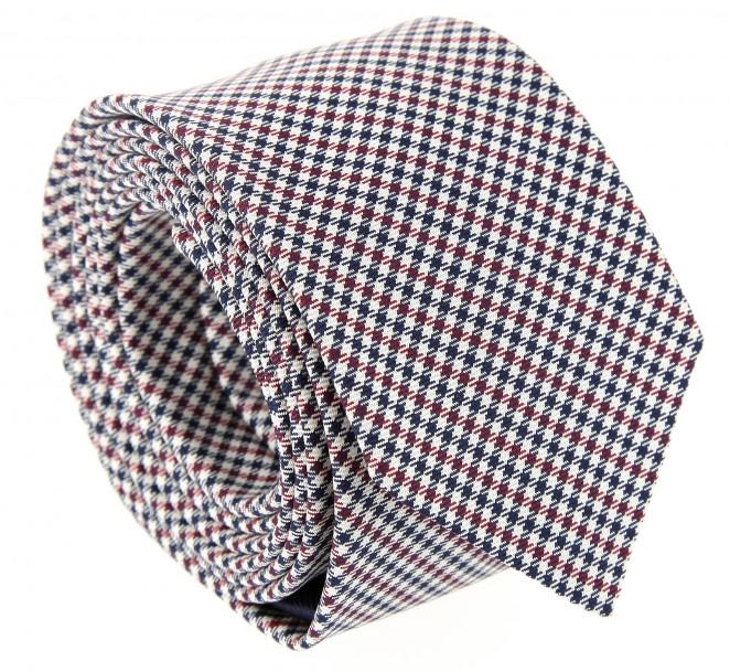 Breuer slim-Krawatte im Schottenmuster
