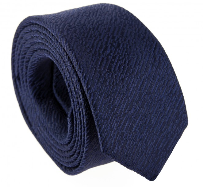 Nachtblaue Yves Saint Laurent-Krawatte