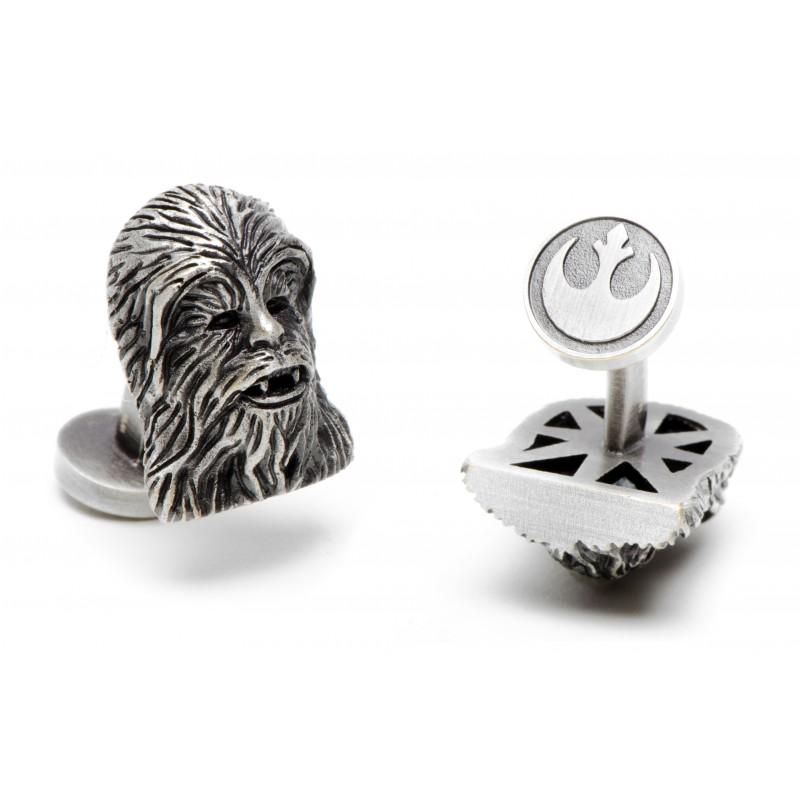 Star Wars Manschettenknöpfe - Chewbacca Palladium