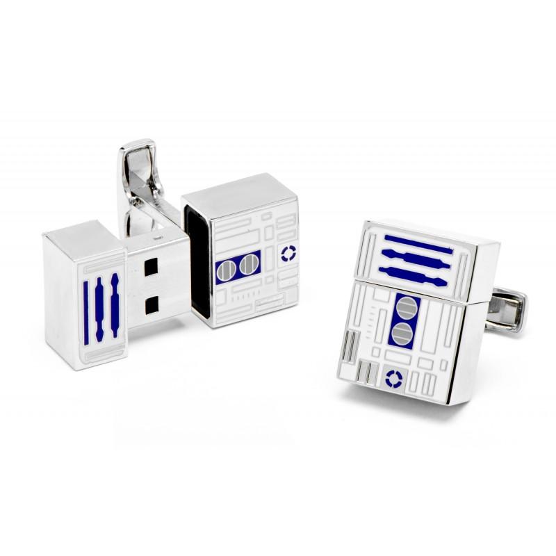 Star Wars Manschettenknöpfe - R2D2 USB Stick