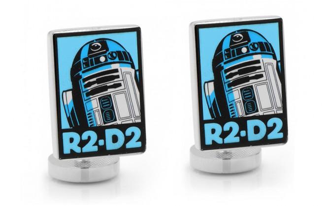 Star Wars Manschettenknöpfe - R2D2 Pop Art Poster