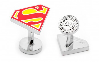 Superman Manschettenknöpfe - Superman Shield