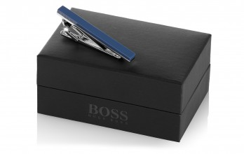 Hugo Boss Krawattenklammer - Troberto Marineblau