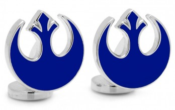 Star Wars Manschettenknöpfe - Blue Rebel Symbol