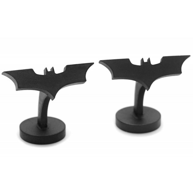 Batman Manschettenknöpfe - Satin Black Dark Knight