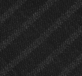 Echarpe gris anthracite à rayures noires - Hampstead