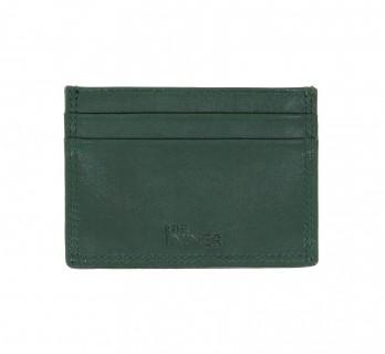 Porte-cartes cuir vert - LHR