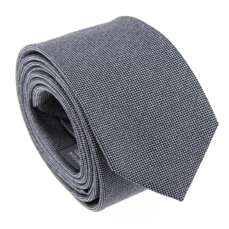 Graue The Nines Krawatte aus geflochtener Seide - Saint Honoré