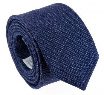 Blaue Geflochtene Seide The Nines Krawatte - Baltimore II