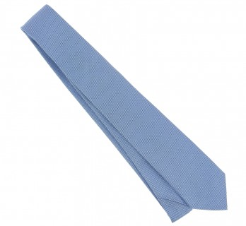 Himmelblaue The Nines Geflochtene Seide Krawatte - Baltimore III