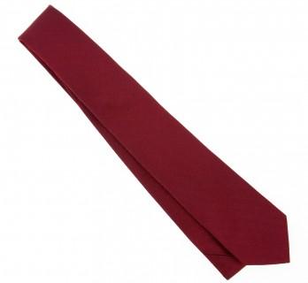 Dunkelrote The Nines Geflochtene Seide Krawatte - Baltimore III
