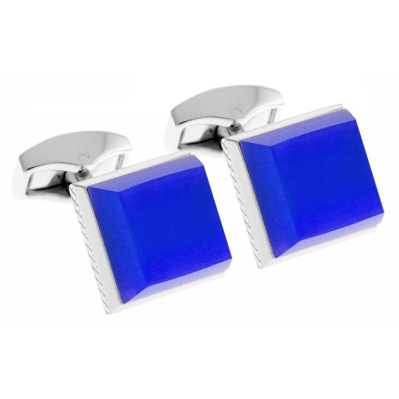 Tateossian Manschettenknöpfe - Keyboard blau