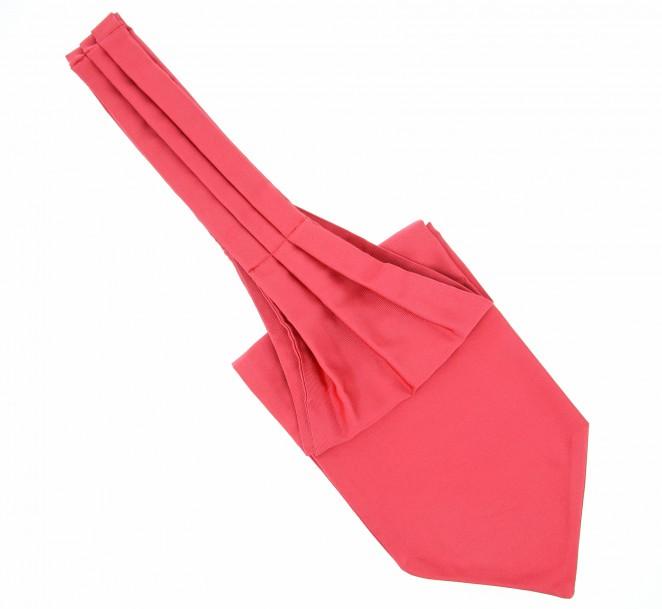 Korallen rosa plastron (Künstlerschleife) - Ascot II