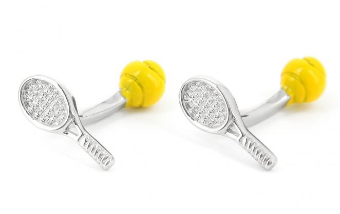 Tennis Manschettenknöpfe - Wimbledon