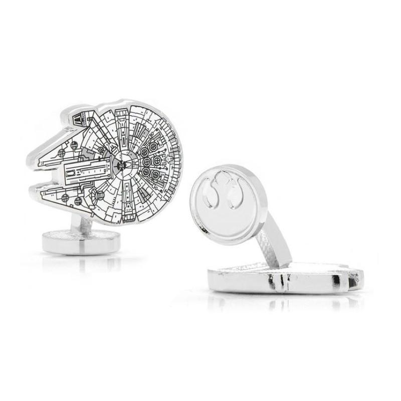 Star Wars Manschettenknöpfe - Millenium Falcon