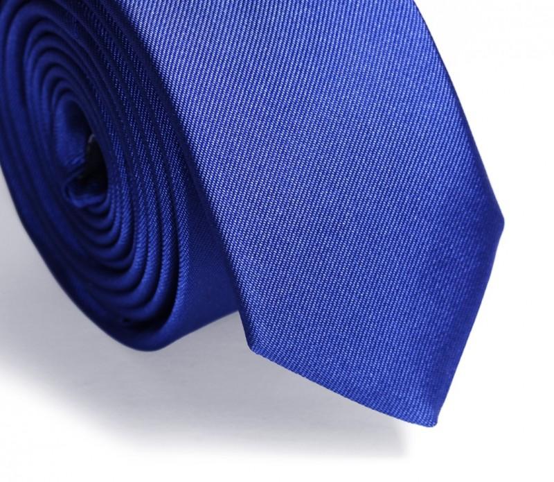 Slim-Krawatte schwarz mit graue Striche - Lincoln II