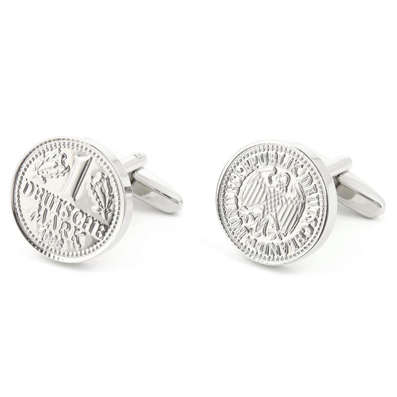 Münzen Manschettenknöpfe - Deutsche Mark