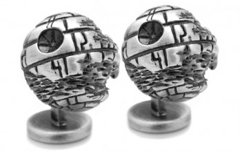 Star Wars Manschettenknöpfe - 3D Death Star II