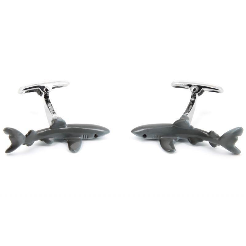 Haifisch Manschettenknöpfe - Haifisch