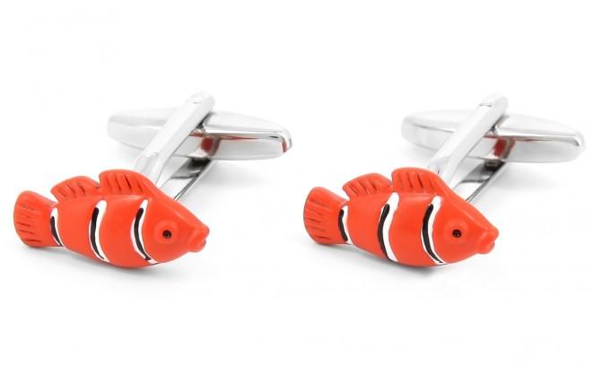 Fisch Manschettenknöpfe - Nemo