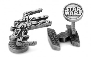 Star Wars Manschettenknöpfe - X-Wing & Tie-Fighter