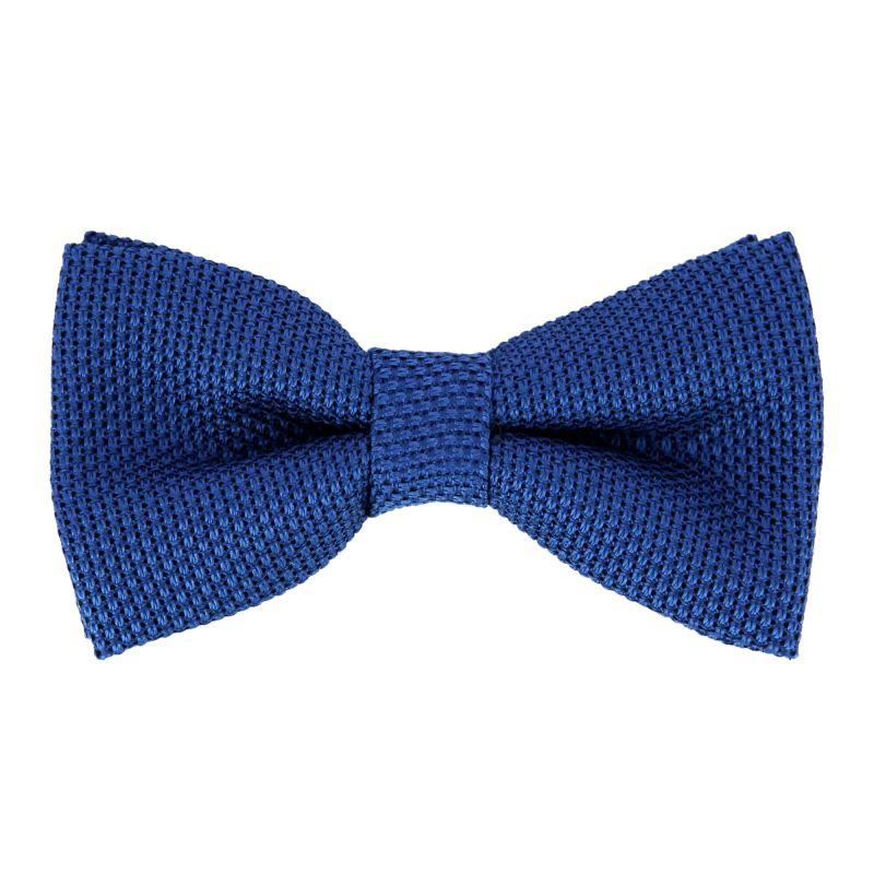 blaue fliege aus grenadinenseide the nines das krawattenhaus. Black Bedroom Furniture Sets. Home Design Ideas