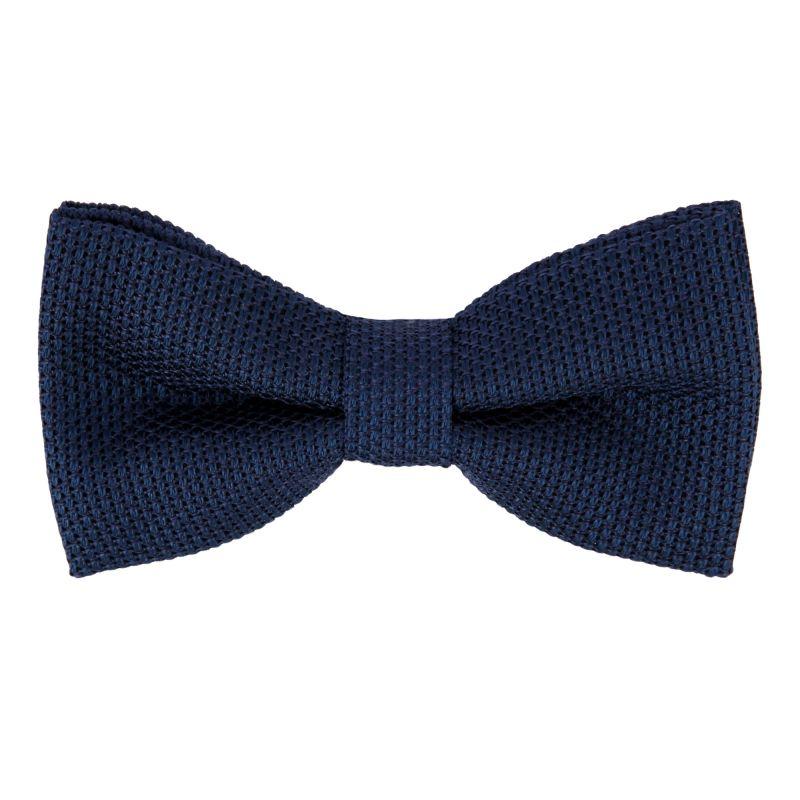 Blau Stahl Krawatte aus Grenadinen-Seide The Nines - Grenadines IV