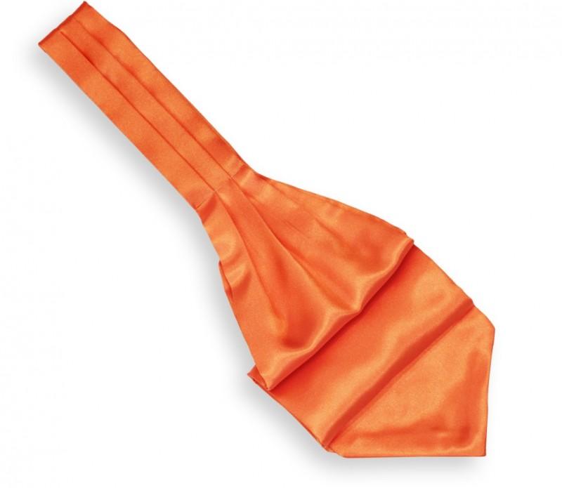Oranges Plastron (Künstlerschleife) - Plastron