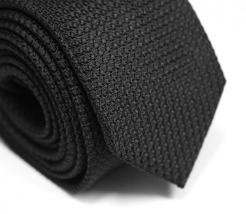 Schwarze Grenadine Krawatte - Grenadines III