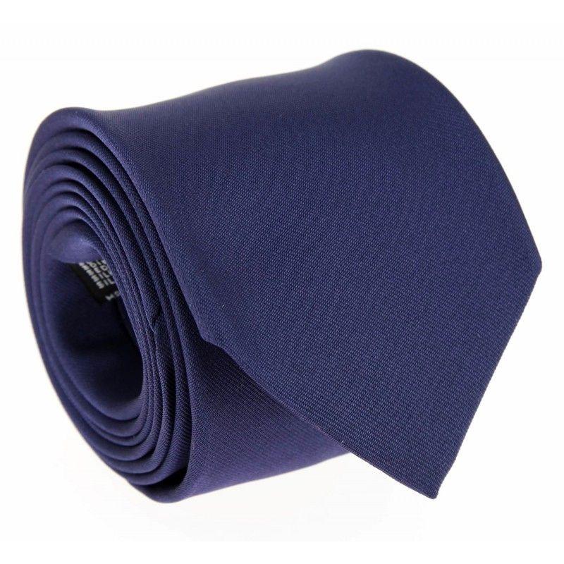 Nachtblaue Krawatte - Milan II