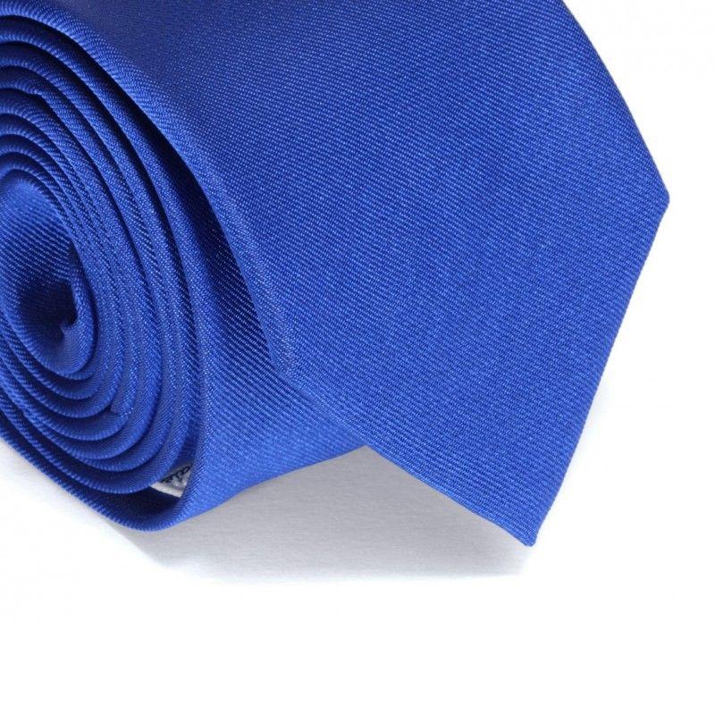 Kobaltblaue Krawatte - Mailand II