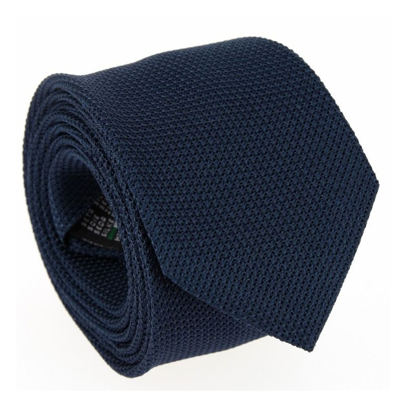 Stahlblaue Grenadine Krawatte - Grenadines IV - The Nines