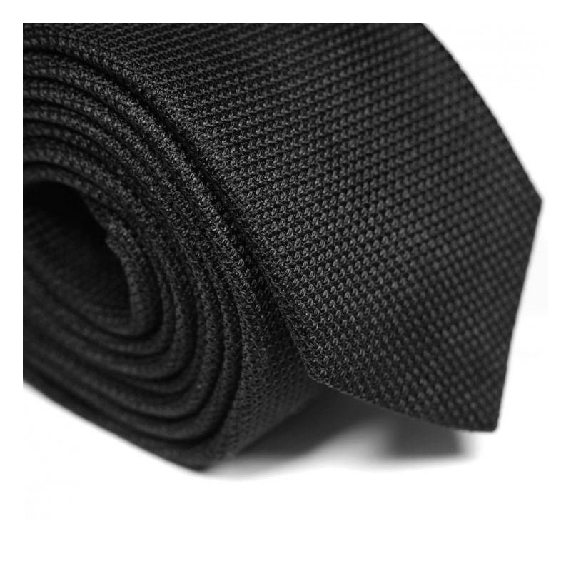 Schwarze Krawatte aus Grenadinenseide - Grenadines IV