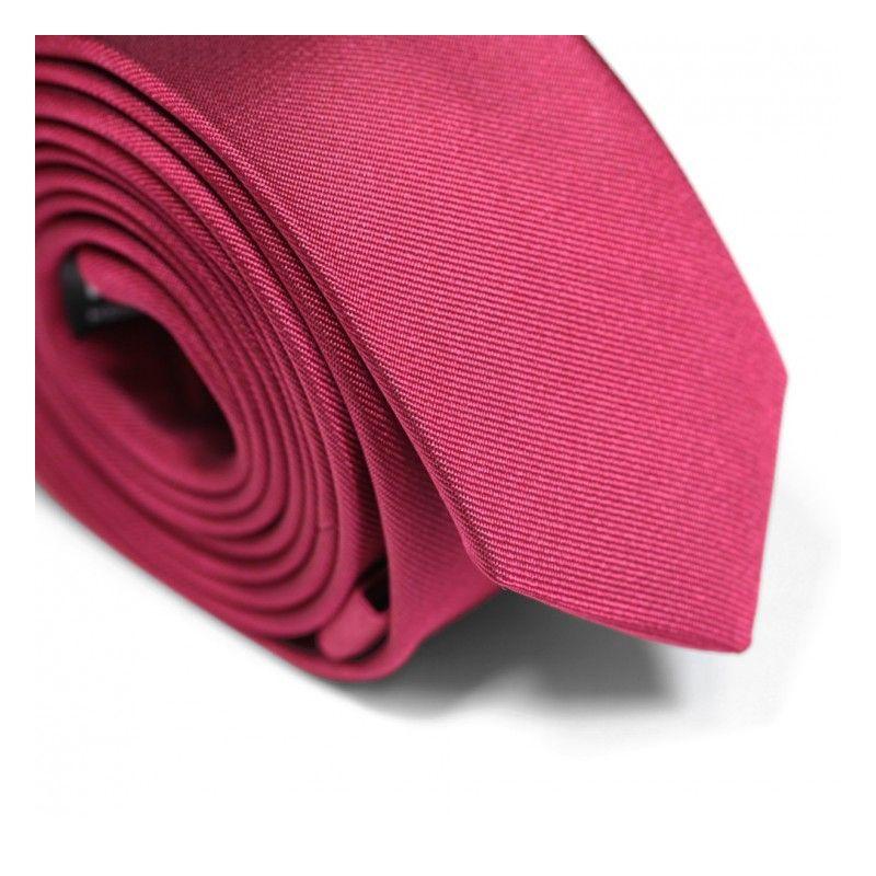 Grenadinerote Slim-Krawatte - Sienne