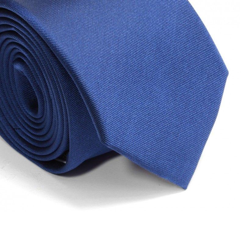 Saphirblaue Krawatte - Milan II