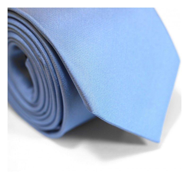 Himmelblaue Krawatte - Milan II