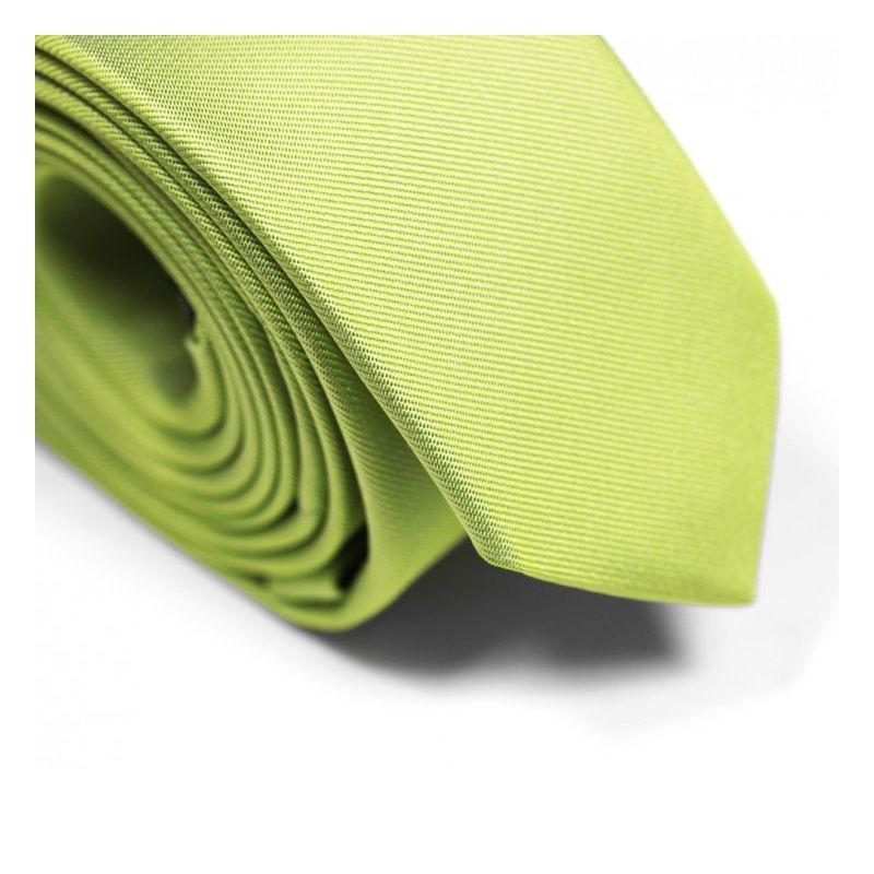 Anisgrüne Slim-Krawatte - Sienne